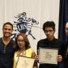Valley Patriot Scholarship Presentation at Lawrence High Alumni Night, 5-14-15