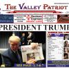 PRESIDENT TRUMP – The November, 2016 VALLEY PATRIOT Print Edition