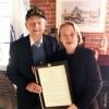 Congressman Recognizes WWII  Hero John Katsaros of Haverhill
