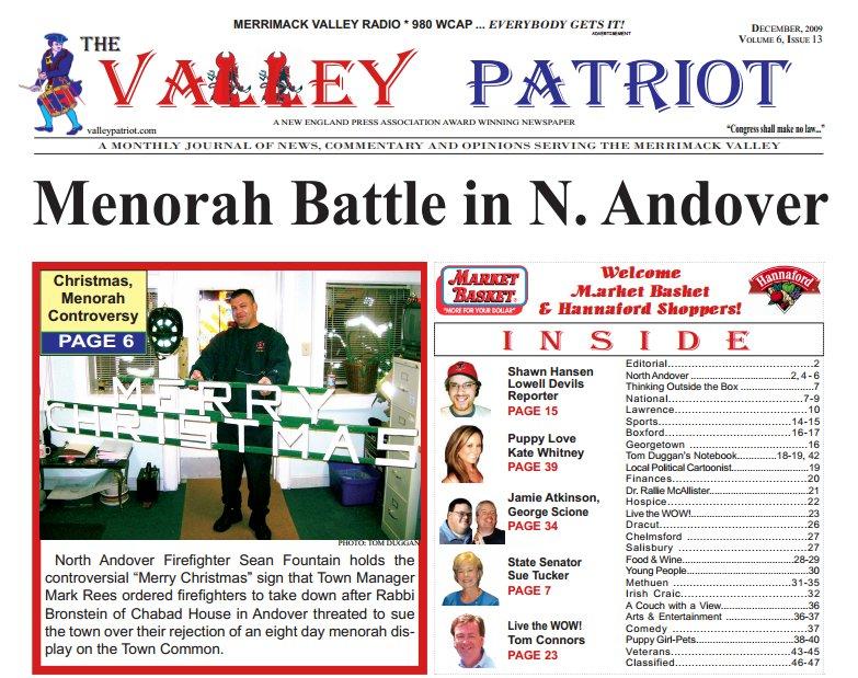 The Valley Patriot December-2009