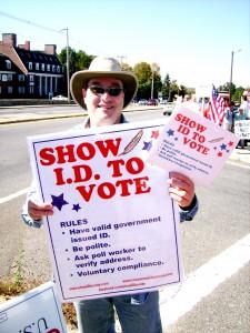 Ralph Zazula, Show ID to Vote