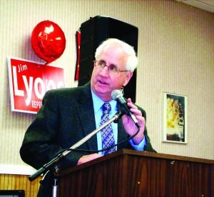State Representative Jim Lyons