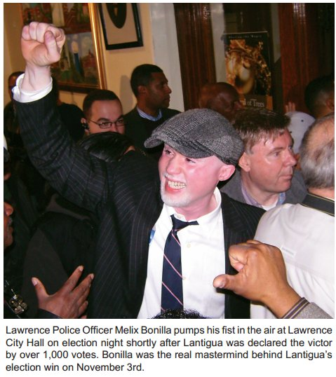 Lawrence Deputy Police Chief Melix Bonilla