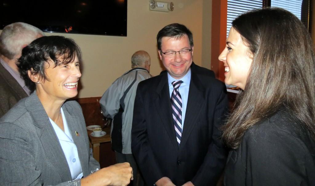 Diana Fay DiZoglio, Linda Dean Campbell and Brian Dempsey