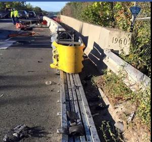 Woman Survives Horrific Crash on Rt 95 After Falling Asleep
