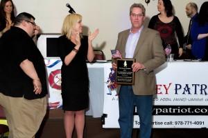 Sweeney 1A award2