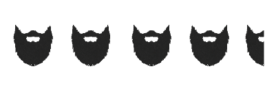 4+ beards