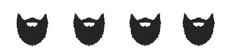 4 beards